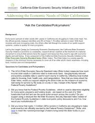 The California Elder Economic Security Initiative program (Cal-EESI ...
