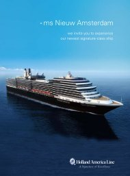 ms Nieuw Amsterdam - Insight Cruises