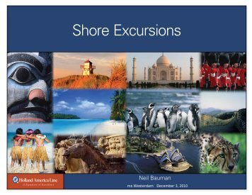 Shore Excursions - Insight Cruises