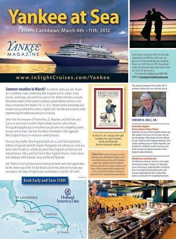 Yankee at Sea - Insight Cruises
