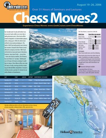 Chess Moves 2 brochure - Insight Cruises