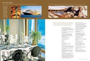 An Elite Fleet - Insight Cruises
