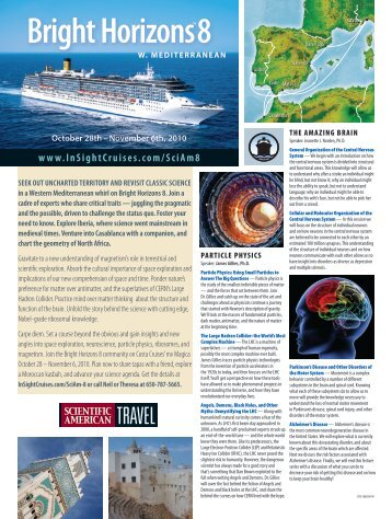 flyer - Insight Cruises