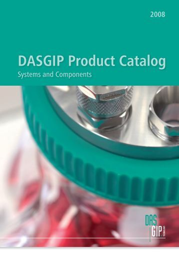 2008 DASGIP Product Catalog