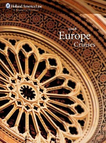 2008 Europe Cruises - Insight Cruises