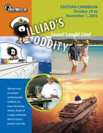 Learn! Laugh! Live! - Insight Cruises