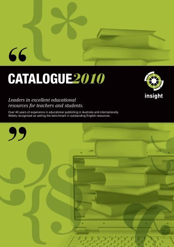 Leaders in excellent educational resources for teachers - Insight ...