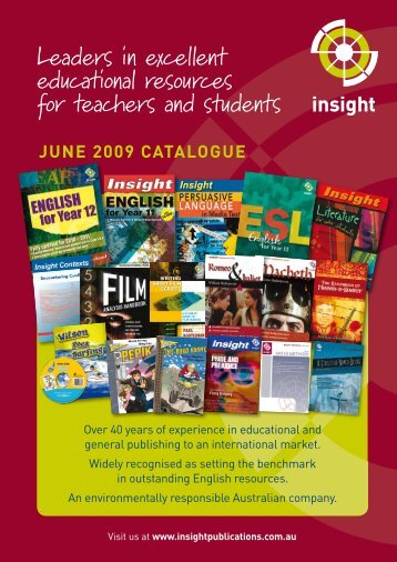 Leaders in excellent educational resources for teachers and students