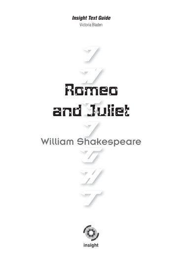 THE TRAGEDY OF ROMEO AND JULIET, ACT 4 Selection Test B/C