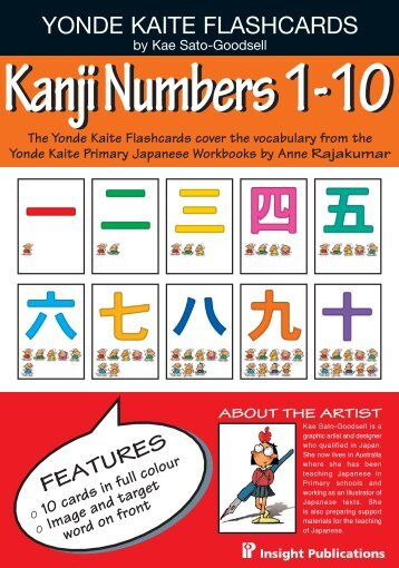 Kanji Numbers 1-10 - Insight Publications
