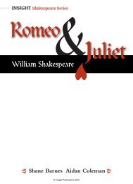 Romeo & Juliet - Insight Publications
