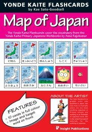 Map of Japan - Insight Publications