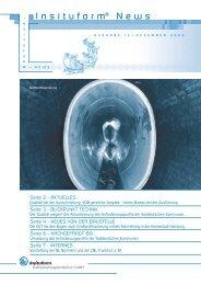 Laden Sie sich den Newsletter als PDF herunter. - Insituform ...