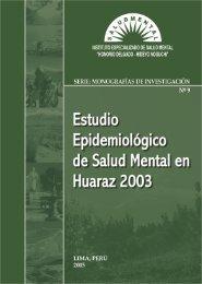 informe general - Instituto Nacional de Salud Mental