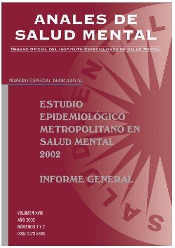 Estudio Epidemiológico Metropolitano - Instituto Nacional de Salud ...