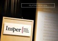 RELATÓRIO ANUAL 2009 - Insper