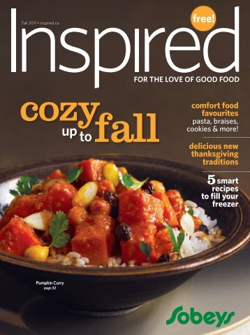 comfort food favourites delicious new thanksgiving ... - Inspired.ca
