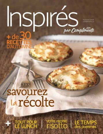 RECETTES - Inspired.ca