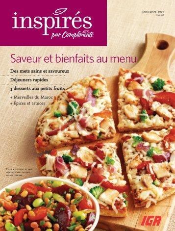 Saveur et bienfaits au menu - Inspired.ca