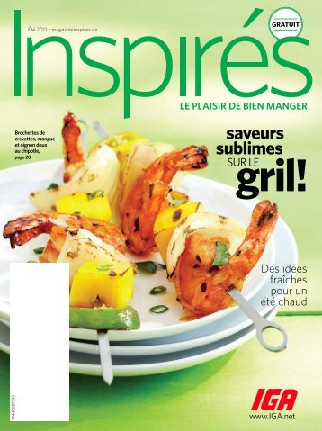 saveurs sublimes - Inspired.ca