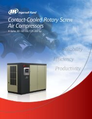 Contact-Cooled Rotary Screw Air Compressors - Instal Focus