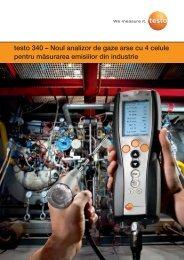 Broșură testo 340 - Instal Focus
