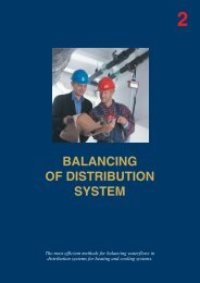 BALANCING OF DISTRIBUTION SYSTEM - Instal Focus