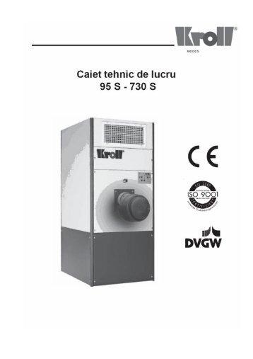 Caiet tehnic generatoare aer cald S cu posibilitatea de ... - Instal Focus