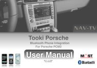 User Manual - Nav-TV