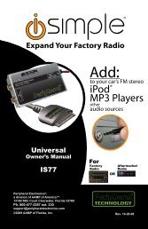 Expand Your Factory Radio - Abt