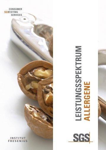 Alle Leistungen und Informationen zum Download - Institut Fresenius