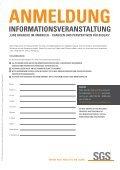 Agenda und Anmeldung - Institut Fresenius - Page 2