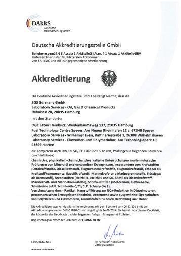 Standort Herten - D-PL-11020-01-00 - Institut Fresenius