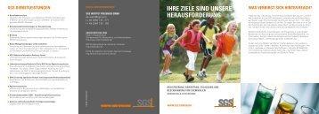 Überblick und Zeitschiene (PDF) - Institut Fresenius