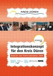 Integrationskonzept 2009 - Kreis Düren