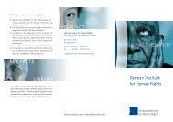 key facts library contact - Deutsches Institut für Menschenrechte
