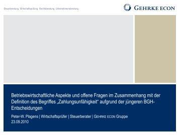 Steuerberatung Wirtschaftsprüfung Rechtsberatung - Institut für ...