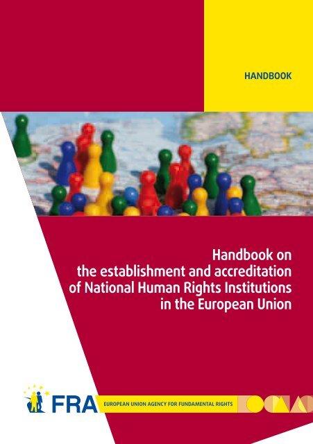Handbook on the establishment and accreditation of National ...