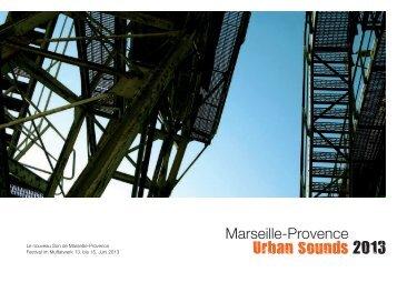 Le nouveau Son de Marseille-Provence Festival im Muffatwerk 13 ...