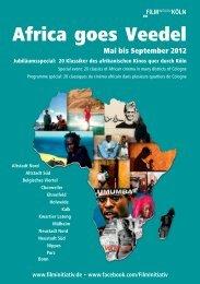 programme « Africa goes Veedel - Institut français