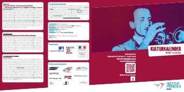 Kulturprogramm - Institut français