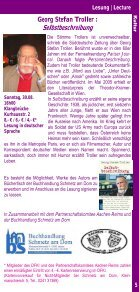 Kultur & K urse ultur & Kurse - Institut français - Seite 5