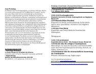 Paläographische Vorarbeiten 15. Februar 2010, Berlin 10:00-12:00 ...