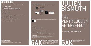 Einladung GAK Bremen - Institut français Deutschland
