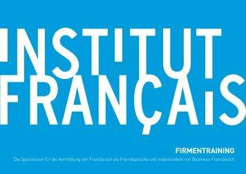 FIRMENTRAINING - Institut français