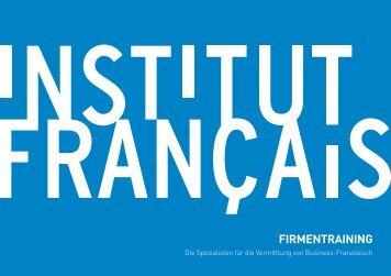 Laden Sie unsere bundesweite Broschüre herunter - Institut français ...