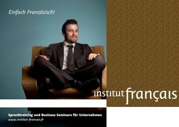 Einfach Französisch! - Institut français