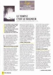 JML 1993 04 PND Série Bénédiction de la chapelle Saint-Symphorien