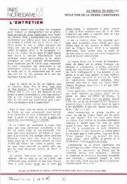 JML 1986 05 28 PND La prière de Jésus - Institut Jean-Marie Lustiger