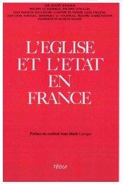 JML 1983 Préface L'Eglise et l'Etat en France - Institut Jean-Marie ...